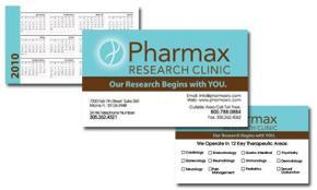 Pharmax Research Clinic Portfolio