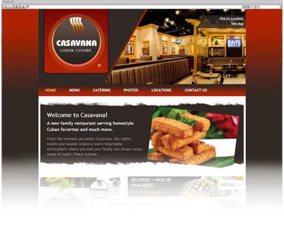 Casavana Cuban Cuisine Portfolio