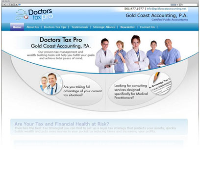 Doctors Tax Pro: Accounting Firm Portfolio