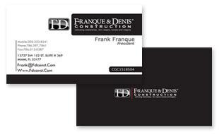 Franque and Denis Construction Portfolio