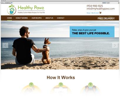Healthy Pawz Portfolio