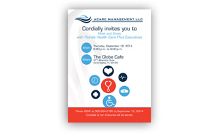 Invite Card - Acare Management LLC Portfolio