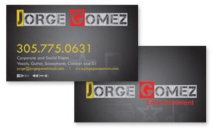 Jorge Gomez, Musician Portfolio