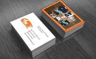 Majestik Group Business Card Portfolio