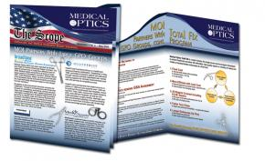 Medical Optics Newsletter and Insert Design Portfolio
