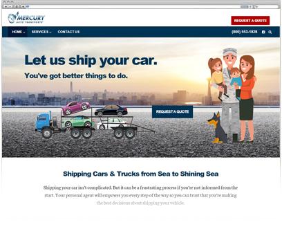 Mercury Auto Transport Portfolio