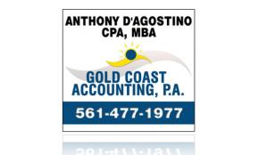 Window Cling Design - Gold Coast Accounting, PA Portfolio