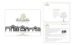 Presentation Design - Olive Tree Equity Portfolio
