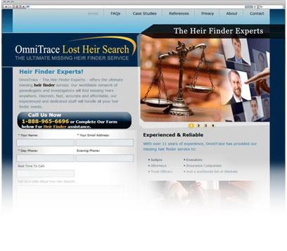 Omni Trace Lost Heir Search Portfolio