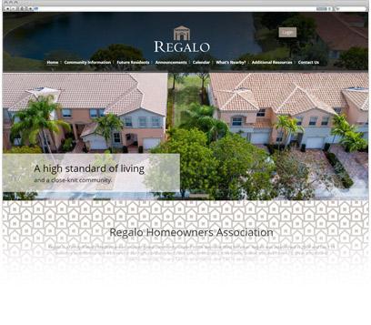 Regalo Homeowners Association Portfolio