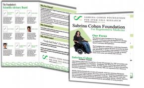 Sabrina Cohen Foundation Portfolio