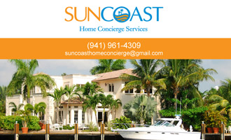 Suncoast Home Concierge Services Portfolio