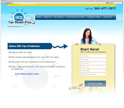 Irs Tax Relief Pro Portfolio