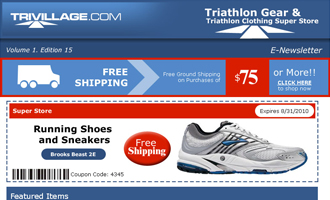 TriVillage: Triathlon Gear & Clothing Portfolio
