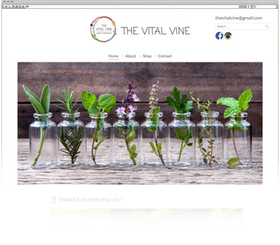 The Vital Vine Portfolio