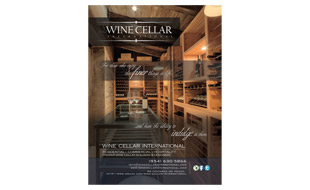 Wine Cellar International Magazine Ad Portfolio