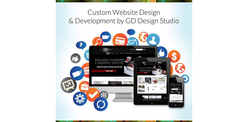 Custom Website Design & Development by GD Design Studio Picture Thumbnail