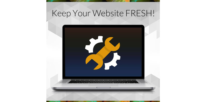 Keep Your Website FRESH Picture Thumbnail