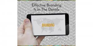 Effective Branding Is In The Details Picture Thumbnail