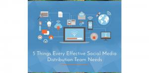 5 Things Every Effective Social Media Distribution Team Needs Picture Thumbnail