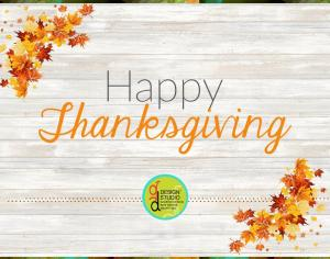 Happy Thanksgiving from GD Design Studio! Picture Thumbnail