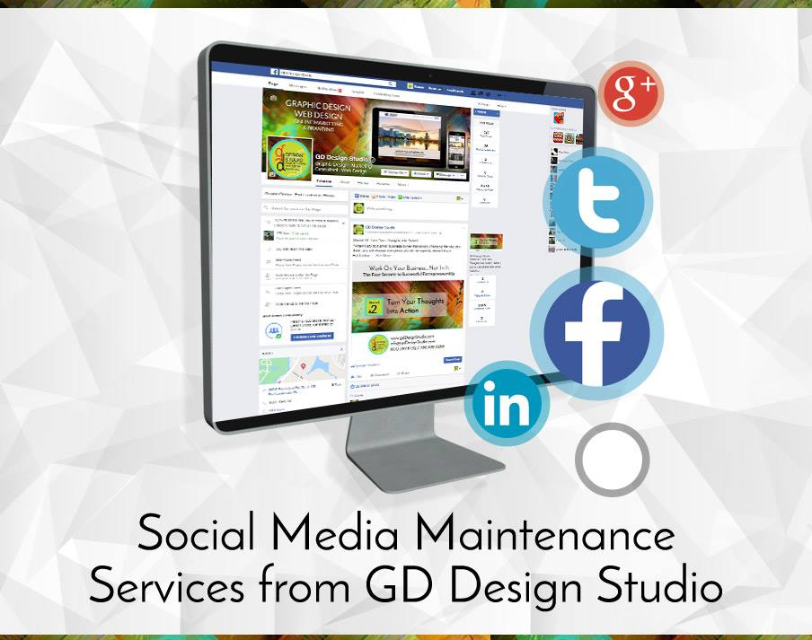 Social Media Maintenance Services from GD Design Studio Picture Thumbnail