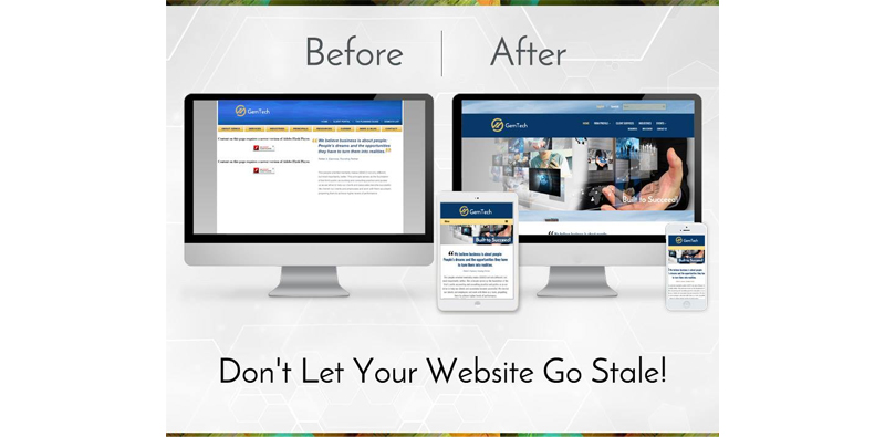 Don't Let Your Website Go Stale! Picture Thumbnail