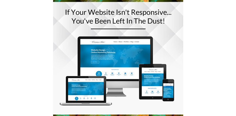 If You Haven't Updated Your Website to a Responsive Design, You'll Get Left in the Dust! Picture Thumbnail