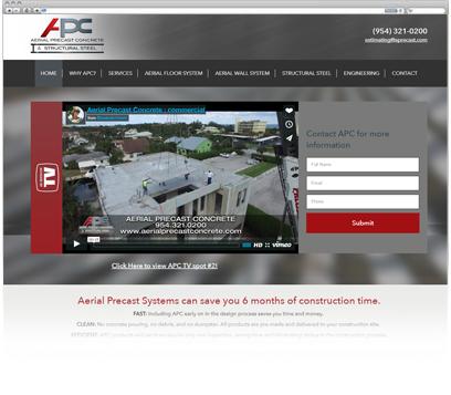 Aerial Precast Concrete Portfolio