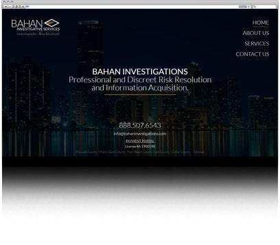 Bahan Investigations Portfolio