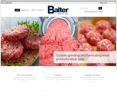 Balter Meat Company Portfolio