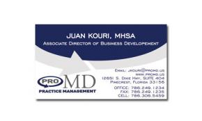 Pro MD Practice Management Portfolio