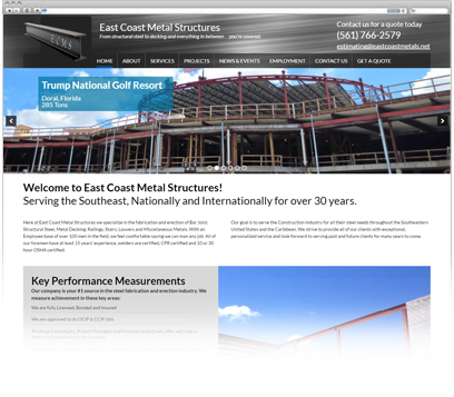 East Coast Metal Structures Portfolio
