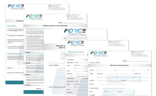 Force Physical Therapy Form Portfolio