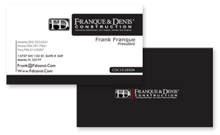 Franque and Denis Construction Portfolio