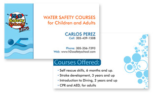 H2O Safety School Portfolio