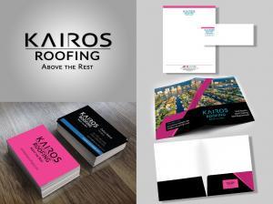 Kairos Roofing Branding Portfolio
