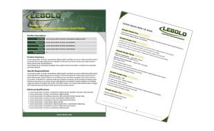 Resume Template - Lebolo  Portfolio