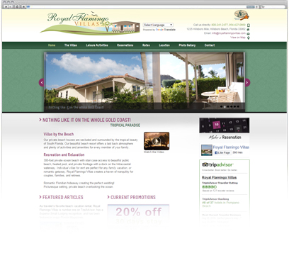 Royal Flamingo Villas Portfolio