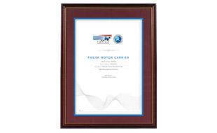 Certificate Design - Mercury Auto Transport  Portfolio