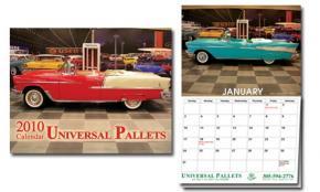 Car Calendar - Universal Pallets 2010 Portfolio