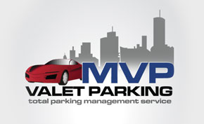 MVP Valet Parking Branding Packages Design Portfolio