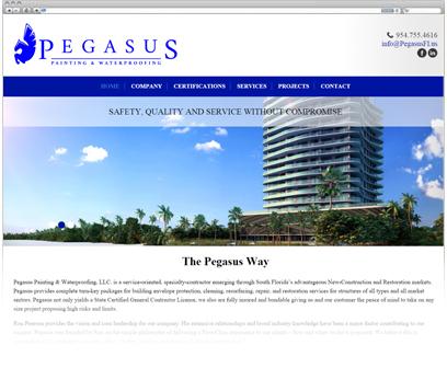 Pegasus Painting & Waterproofing Portfolio