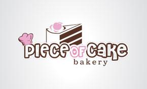 Piece of Cake Bakery Branding Packages Design Portfolio