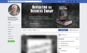Poorman Navigating the Business Swamp Facebook Branding Portfolio