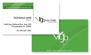 Vigo Wax Center Portfolio