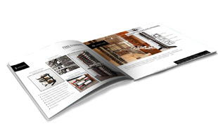 Book Design Presentation - Wine Cellar International Portfolio