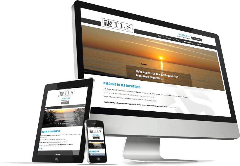 TLS Reporting Responsive Website Design